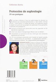 Livres Couvertures de Protocoles de sophrologie - 20 cas pratiques