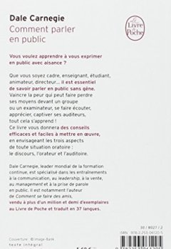 PDF CARNEGIE GRATUIT PUBLIC DALE PARLER EN COMMENT TÉLÉCHARGER