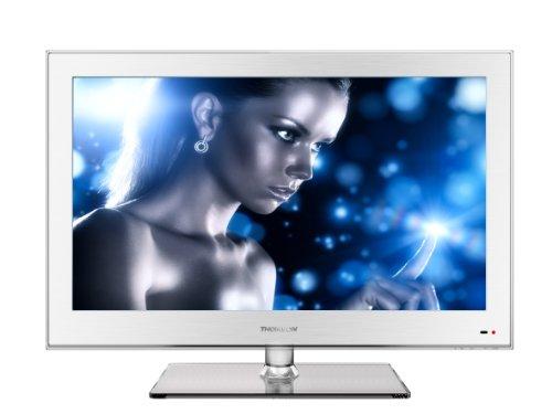 Thomson 26HS4246CW 66 cm (26 Zoll) LED-Backlight-Fernseher, Energieeffizienzklasse B (HD Ready, DVB-C/-T, 2x HDMI, CI+, USB 2.0, Hotelmodus) weiß