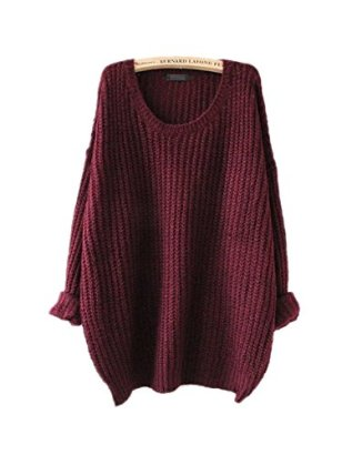 ARJOSA-Womens-Fashion-Oversized-Knitted-Crewneck-Casual-Pullovers-Sweater