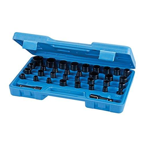 Silverline Jeu d/'augmentateurs et réducteurs 4 pièces pour clefs dynamométriqes