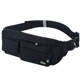 EOTW Fanny Pack Waist Bag Travel Pocket Sling Chest Shoulder Bag Phone Holder Running Belt With Separate Pockets, Adjustable Band For Workout Vacation Hiking For iPhone 6 6S Plus, Galaxy S4 S5 S6 S7