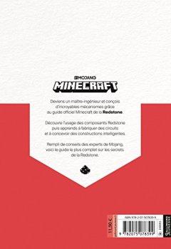 Livres Couvertures de Minecraft, le guide Redstone