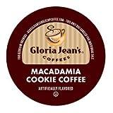 Gloria Jean's Macadamia Cookie Coffee Keurig K-Cups, 36 Count