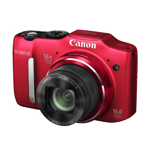 Canon PowerShot SX160 IS 16.0 MP Digital Camera