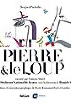 Livres Couvertures de Pierre & Le Loup (1CD Audio)