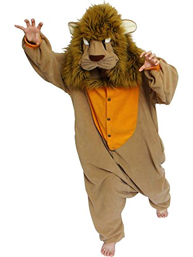 Bcozy Lion Onesie, Tan/Yellow, One Size