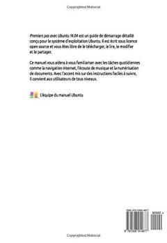 Livres Couvertures de Premiers pas avec Ubuntu 14.04 - Deuxième édition