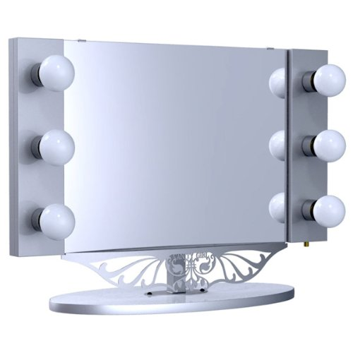 Starlet table top lighted vanity mirror 34 silver best sellers check special offer best buy starlet table top lighted vanity mirror aloadofball Images