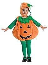 Rubies Costume Baby Pumpkin Romper Costume, Orange, Newborn