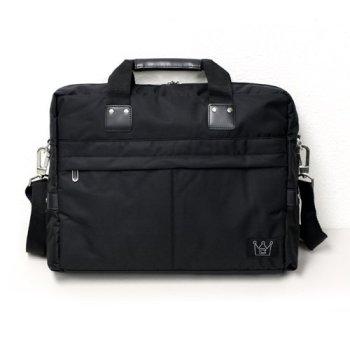 CaseCrown Smart Briefcase with Shoulder Strap (Black) for 13 Inch Laptop / Ultrabook