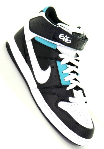 NIKE 6.0 Schuh zoom mogan mid 2 ink white black Gr. 8.5/42