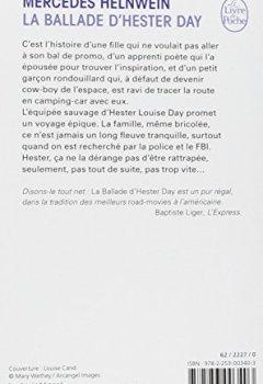 Telecharger La Ballade d'Hester Day de Mercedes Helnwein