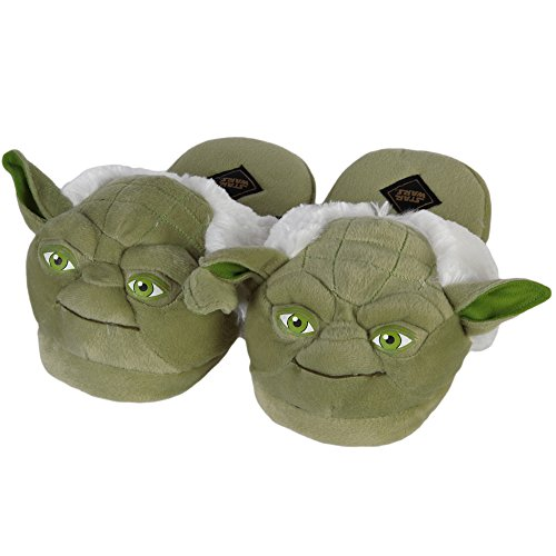 Star Wars Yoda Adult Slippers (Medium)