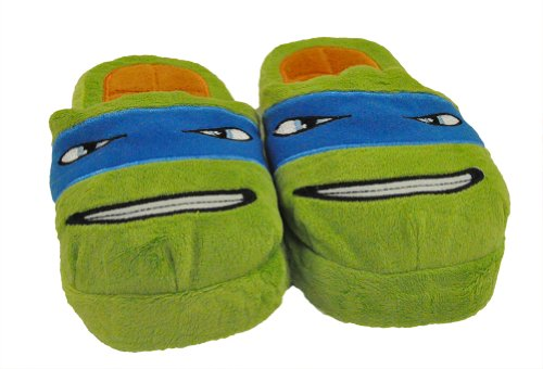 TMNT: Leonardo Slippers - Youth (S/M)