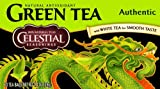 Celestial Seasonings Authentic Green Tea, With White Tea, 20-Count Tea Bags (Pack of 6)