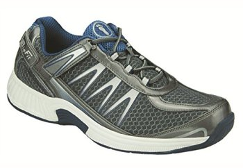 Orthofeet Sprint Mens Comfort Extra Depth Orthopedic Arthritis Diabetic Orthotic Sneakers Gray Synthetic 11.5 M US
