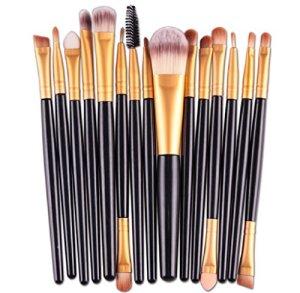 Ularma-Belleza-15-PCs-sets-Eye-Shadow-Base-ceja-Lip-Brush-Herramienta-pinceles-de-maquillaje