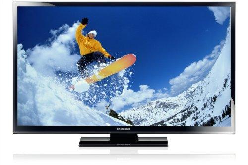 Samsung PS43E450 109 cm (43 Zoll) Plasma-Fernseher, Energieeffizienzklasse C (HD Ready, 600Hz CMR, DVB-T/C, CI+) schwarz