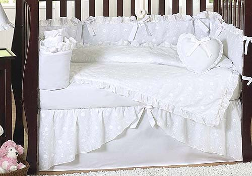 shabby chic baby bedding eclectic