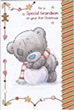 Me to you - Tatty Teddy - Christmas Card - For a special Grandson on your First Christmas