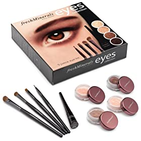 Freshminerals 9 Piece Mineral Eye Kit
