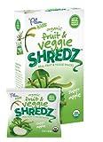 Plum Kids Organic Fruit and Veggie Shredz, Super Apple, 3.15 Ounce