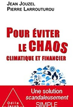 Livres Couvertures de Pour éviter Le Chaos Climatique Et Financier