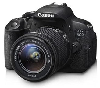 Canon EOS 700D 18 MP Digital SLR Camera