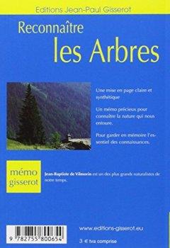 Livres Couvertures de Reconnaître les arbres - memo