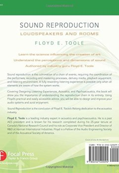 Livres Couvertures de Sound Reproduction: The Acoustics and Psychoacoustics of Loudspeakers and Rooms