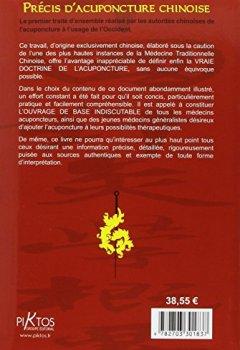 Livres Couvertures de Précis d'acuponcture chinoise