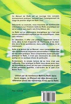 Livres Couvertures de Manuel de Reiki - Premier degré