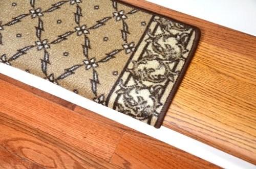 Dean Modern Diy Bullnose Wraparound Non Skid Carpet Stair Treads | Dean Carpet Stair Treads | Pet Friendly | Gripper Tape | Friendly Diy | Rug | Modern Diy