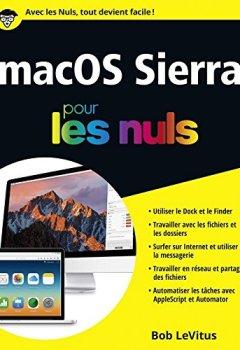 Livres Couvertures de macOS Sierra pour les Nuls grand format