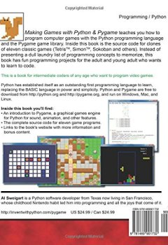 Télécharger Making Games with Python & Pygame PDF Fichier