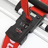 重さの量れるスーツケースベルト Luggage-Mate Basic Lock (レッド)