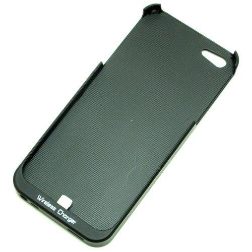 iPhone5 専用 「Qi」規格ワイヤレス充電用ケース (ブラック)