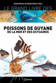 Livres Couvertures de Poissons de Guyane de la mer et des estuaires