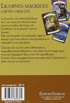 Livres Couvertures de Licornes magiques : Cartes oracles