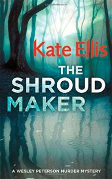 The Shroud Maker (The Wesley Peterson Murder Mysteries) by Kate Ellis| wearewordnerds.com