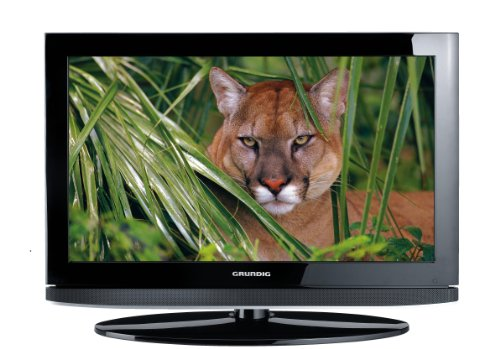 Grundig 26 VLC 9140 S 66 cm (26 Zoll) LCD-Fernseher, Energieeffizienzklasse C  (HD-Ready, 50 Hz, DVB-T/C/S2, 4x HDMI, CI+, 2x USB 2.0) schwarz