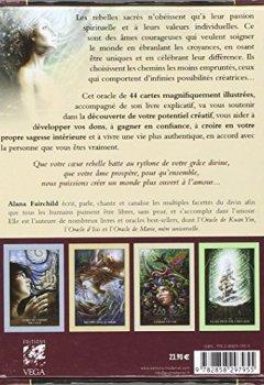 Livres Couvertures de L'Oracle des rebelles sacrés : Conseils pour vivre une vie unique et authentique - Avec 44 cartes illustrées