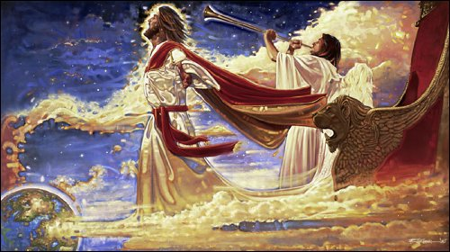 Ron DiCianni - The Second Coming of Jesus Christ Open Edition on Canvas