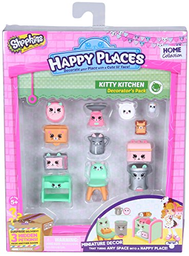 Shopkins Happy Places Decorator Pack Kitty Kitchen