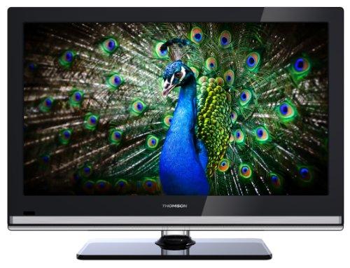 Thomson 24FT5253 61 cm (24 Zoll) LED-Backlight-Fernseher, Energieeffizienzklasse A (Full HD, 50Hz, DVB-C/-T Tuner, MPEG4, 2x HDMI, CI+, USB 2.0, Hotelmodus) schwarz