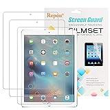 iPad Pro Schutzfolie, Repou iPad Pro 9,7 (3 Stück) Schutzfolie Kristallklar Displayschutz Displayschutzfolie für Apple iPad Pro 9.7 Zoll