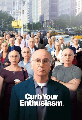 Curb Your Enthusiasm Poster TV G 11x17 Larry David Cheryl Hines Jeff Garlin Susie Essman, Mr. Media Interviews