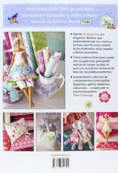 Portada del libro deEl taller de Tilda: labores para la casa y nuevos muñecos de tela