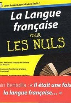 Livres Couvertures de La Langue Française Pour Les Nuls